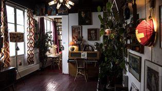 L'appartement de Boris Vian, cité Véron, à Paris. (AFP)