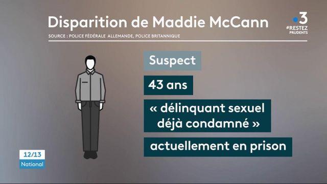 Affaire Maddie McCann : la police allemande identifie un nouveau suspect
