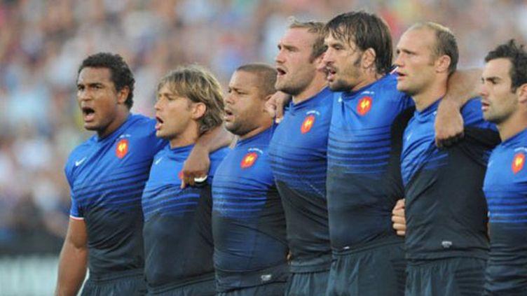 Le XV de France (PIERRE ANDRIEU / AFP)