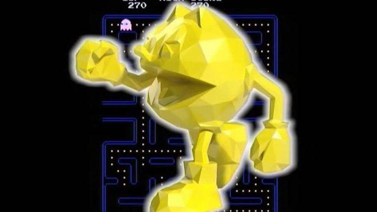 Pac-Man, l'une des plus célèbres créations de Richard Orlinski  (France 3 / Culturebox / capture d'écran)