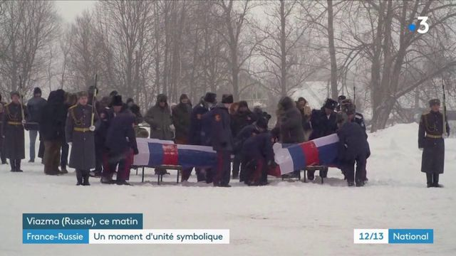 Russie : des soldats enterrés 200 ans après la défaite de Napoléon