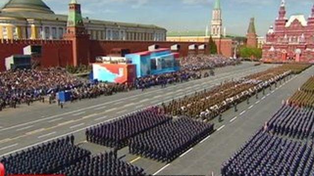 Russie : un défilé militaire grandiose pour célébrer la victoire des Alliés