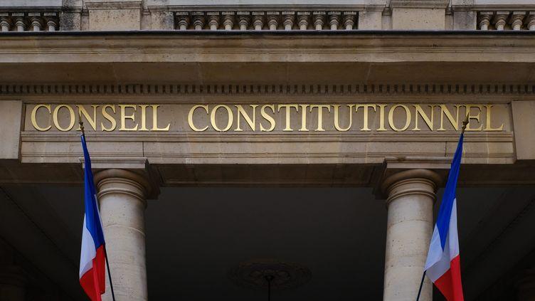 Le Conseil constitutionnel à Paris le 20 décembre 2018 à Paris. (MAXPPP)