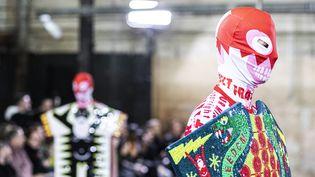 La collection Walter Van Beirendonckautomne-hiver 2020-21 présentée pendant la semaine de la mode 2020 de Paris. (CINDY VOITUS / HANS LUCAS)