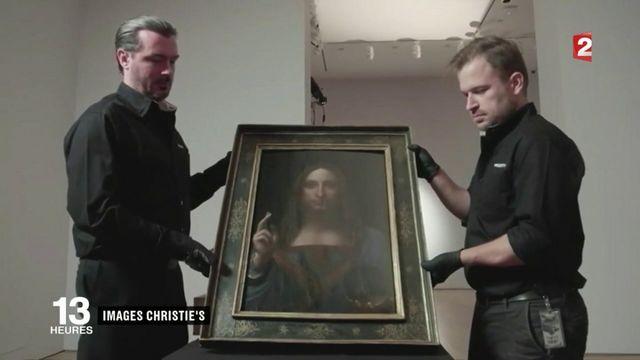 Léonard de Vinci : son Salvator Mundi devient la peinture la plus chère du monde