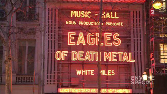 Envoyé spécial. Amputé après le 13-novembre, Kévin retourne voir les Eagles of Death Metal