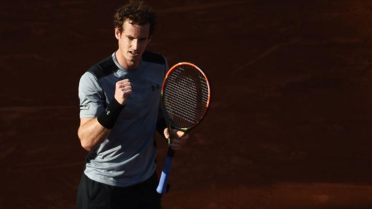 L'Ecossais Andy Murray lors de son match face à David Ferrer à Roland-Garros, le 3 juin 2015. (PASCAL GUYOT / AFP)