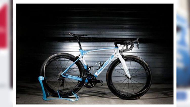 Un de vélos volés, sur la page Facebook de l'équipe FDJ - Nouvelle Aquitaine - Futuroscope. (CAPTURE D'ECRAN FACEBOOK)