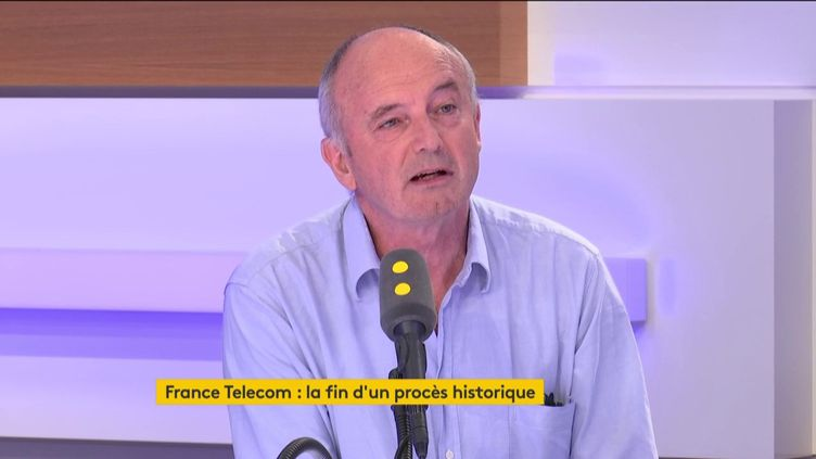 Patrick Ackermann,délégué syndical Sud-PTT, sur franceinfo, jeudi 11 juillet. (FRANCEINFO)