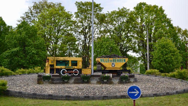 La ville de Behren-lès-Forbach, en Moselle. (NOEMIE BONNIN / RADIO FRANCE)