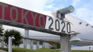 Les tribunes du Dôme de Sapporo, stade qui accueillera les matchs de football des JO, resteront vides. (TAKUYA MATSUMOTO / YOMIURI / AFP)