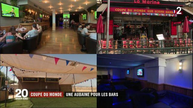 Coupe du monde : une aubaine pour les bars
