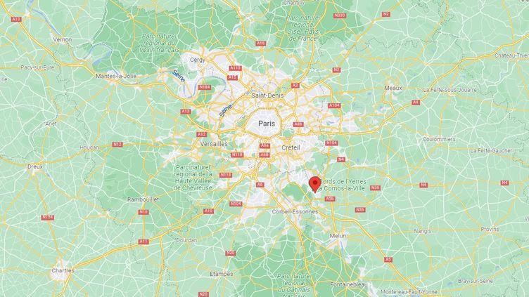 Une enseignante d'un lycée de Combs-la-Ville (Seine-et-Marne) a été violemment bousculée par un élève, le 8 octobre 2021. (GOOGLE MAPS)