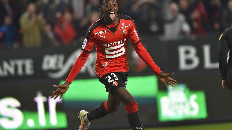 Ousmane Dembélé encore décisif pour Rennes (LOIC VENANCE / AFP)