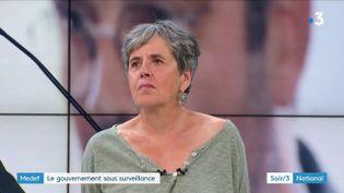 Annick Coupé (Attac) (France 3)