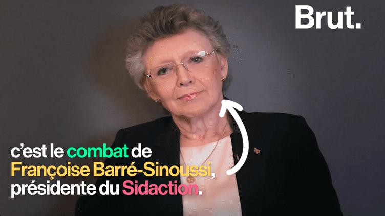"""Françoise Barré-Sinoussi, présidente de Sidaction : """"On ne guérit pas du sida"""" (BRUT)"""