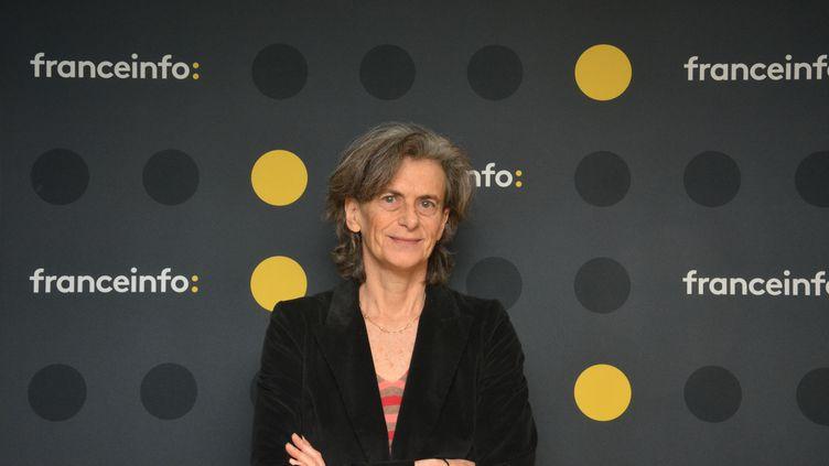 """Dominique Nora, directrice de la rédaction de """"L'Obs"""". (JEAN-CHRISTOPHE BOURDILLAT / RADIO FRANCE)"""