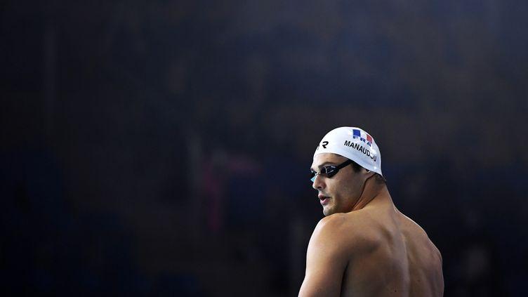 Florent Manaudou qualifié pour les demi-finales du 50m papillon (STEPHANE KEMPINAIRE / KMSP)