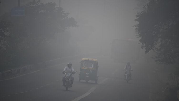 Photo d'illustration de la pollution de l'air, en Inde. (DOMINIQUE FAGET / AFP)