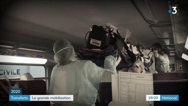 Covid-19 : des opérations de transfert face à la saturation des services de réanimation