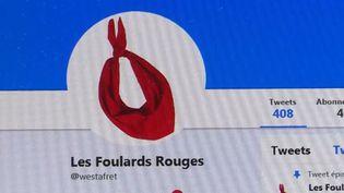 """(Capture d'écran du compte des """"foulards rouges"""") (France 3)"""