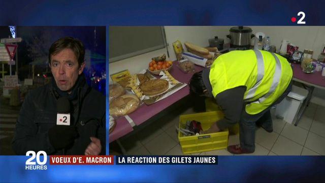 """Vœux d'Emmanuel Macron : la réaction des """"gilets jaunes"""""""