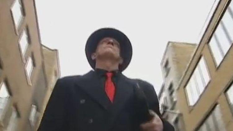 A Londres, en décembre 2011. (VIDÉO :JACQUES CARDOZE ET STÉPHANE GUILLEMOT - FRANCE 2)