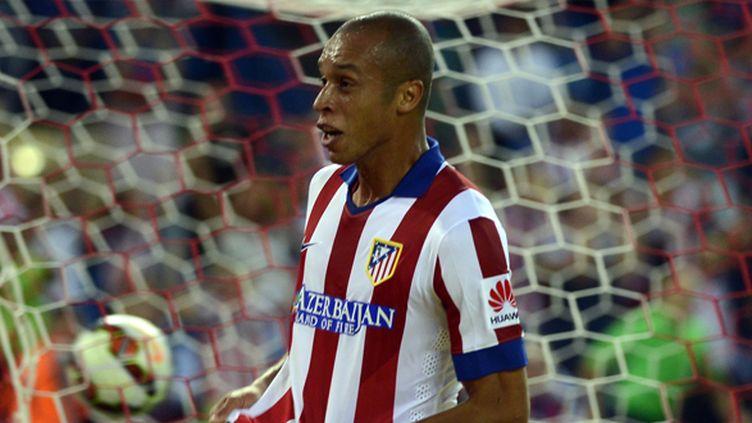 Le défenseur central brésilien de l'Atletico Madrid Joao Miranda (EVRIM AYDIN / ANADOLU AGENCY)