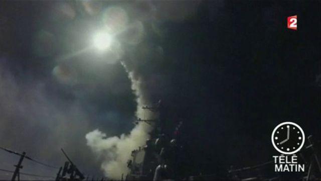 Après l'attaque chimique, les États-Unis frappent la Syrie