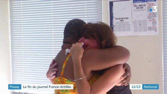 "Presse : la fin du journal ""France-Antilles"""