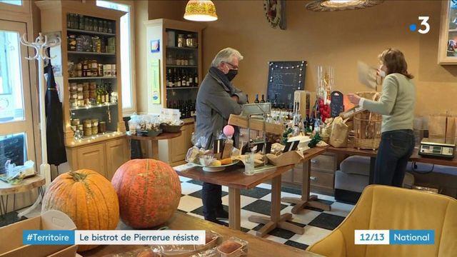 À Pierrerue (Alpes-de-Haute-Provence), un bistrot résiste à la fermeture des bars et restaurants
