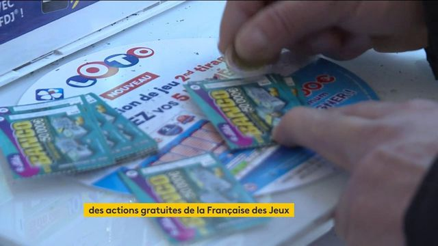 Française des jeux : des actions gratuites distribuées en France