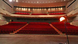Les salles de spectacle sont vides depuis les restrictions mises en place pour lutter contre la pandémie de Covid-19. Photo d'illustration. (DAREK SZUSTER / MAXPPP)