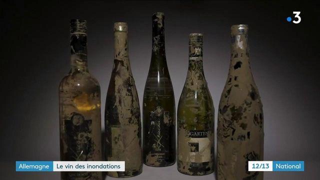 """Allemagne : le """"vin des inondations"""" s'arrache en soutien au producteurs"""