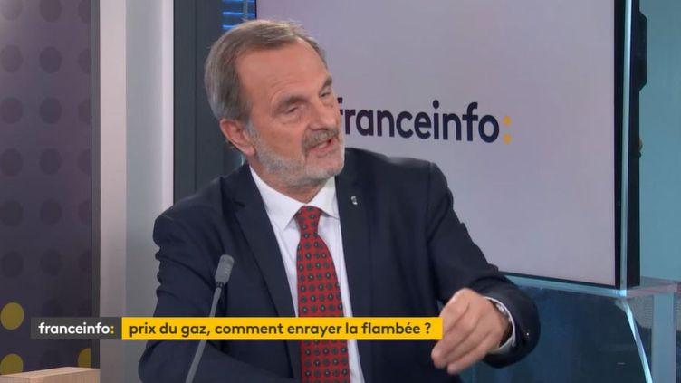 Jean-FrançoisCarenco,président de la Commission de la régulation de l'énergie. (FANCEINFO)