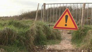 Retour sur les conséquences des tempêtes qui ont frappé les côtes de Bretagne. Par exemple, à Erdeven, dans le Morbihan, des pieux qui datent de la Seconde Guerre mondiale ont refait surface. (France 2)