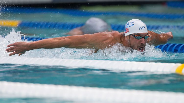 Michael Phelps. (DON FERIA / GETTY IMAGES NORTH AMERICA)