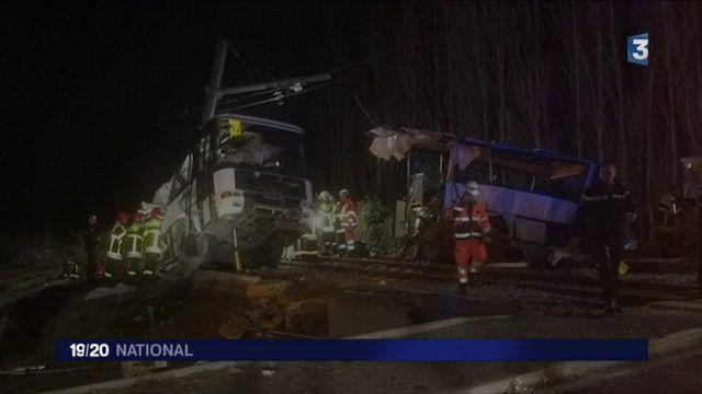 Pyrénées-Orientales : collision mortelle entre un bus scolaire et un train