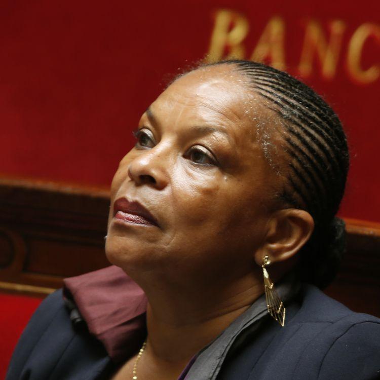 La ministre de la Justice, Christiane Taubira, à l'Assemblée nationale, le 25 juin 2013. (CHARLES PLATIAU / REUTERS)