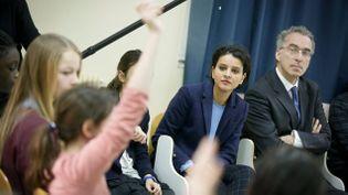 (La ministre de l'Education Najat Vallaud-Belkacem a appelé vendredi à une prise de conscience face au harcèlement scolaire © Maxppp)