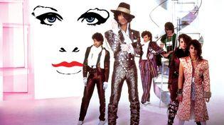 """Prince and The Revolution, artisans de """"Purple Rain"""" en 1984. (Larry Williams)"""