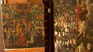 Puys d'Amiens restaurés à Versailles  (France3/Culturebox)