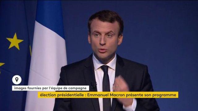 Emmanuel Macron sur les contrôles d'identité au faciès