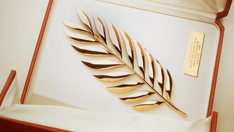 La Palme des Palmes réalisée par Cartier,remise lors du 50e Festival de Cannes en 1997  (AFP)