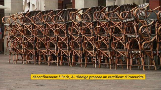 Déconfinement : Anne Hidalgo propose un certificat d'immunité