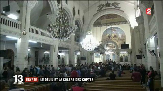 Égypte : le deuil et la colère des Coptes