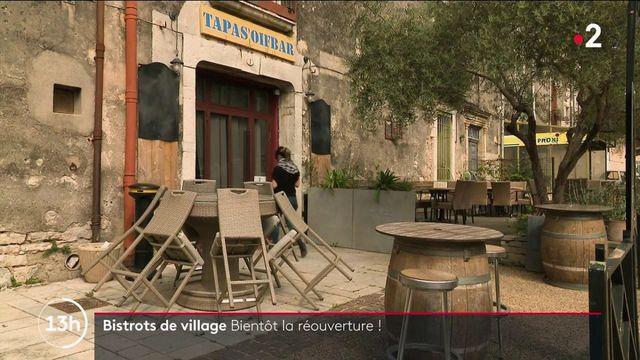 Déconfinement : bientôt la réouverture des bistros de village