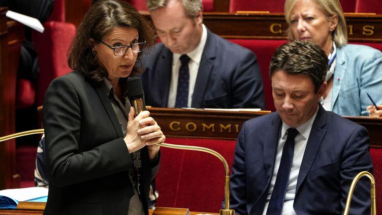 La ministres de la Santé et des Solidarités, Agnès Buzyn, le 12 mars 2019. (LIONEL BONAVENTURE / AFP)