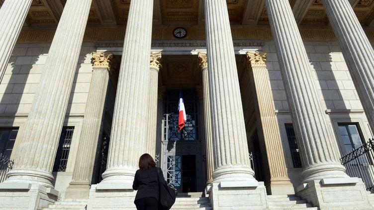 Le palais de justice de Lyon (Rhône), le 4 juin 2013. ( MAXPPP)