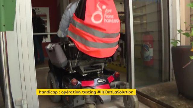 handicap : opération testing